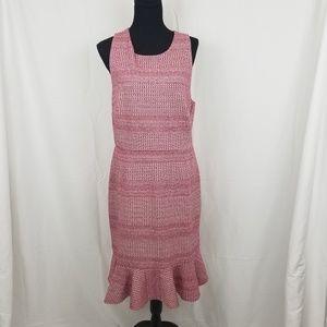 Banana Republic Jacquard Crossback Dress